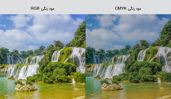 تفاوت مود رنگی RGB و CMYK