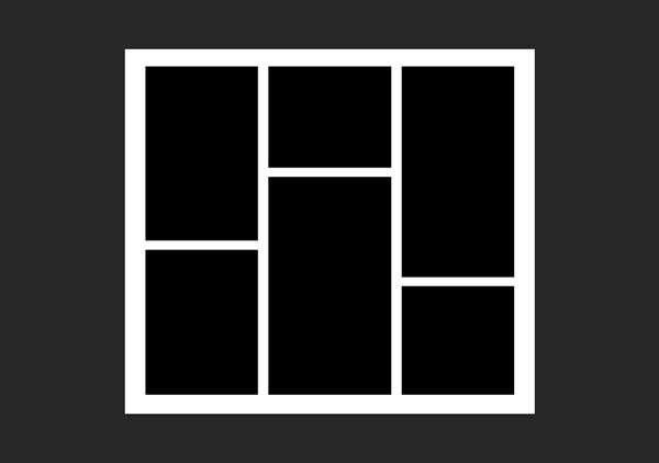 ایجاد کادر مربع