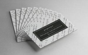 آخرین نمونه کارت ویزیت های چاپ شده در چاپ آقا