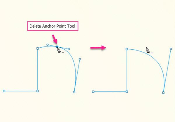 ابزار delete point tool