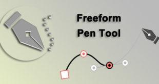 ابزار freeform pen tool