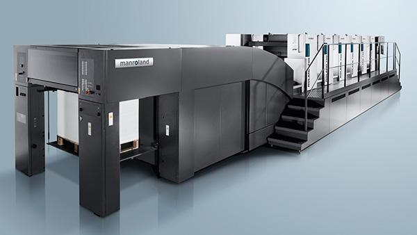 دستگاه چاپ افست شیت-فد 2 ورقی