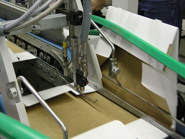 مراحل چاپ - پاکت سازی