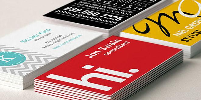 بررسی انواع کارت ویزیت