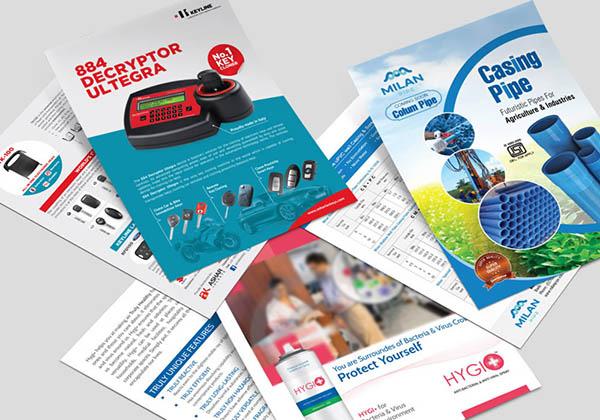 فاصله یک قدمی طراحی و چاپ حرفهای تراکت تا فروش
