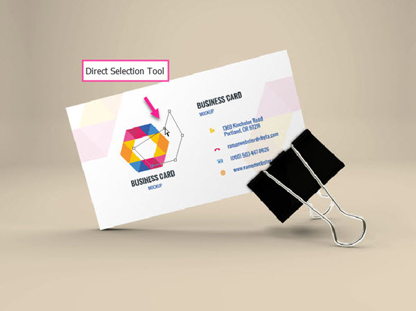 ابزار direct selection